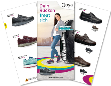 JOYA Schuhe Dein Rücken freut sich.